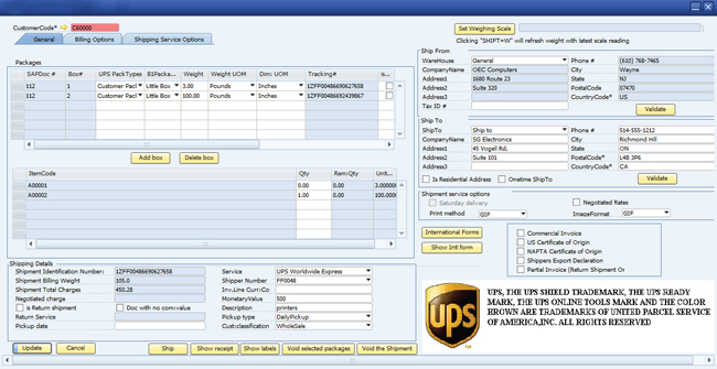 simple business invoice
