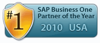 SAP Business One Partner of the Year 2010